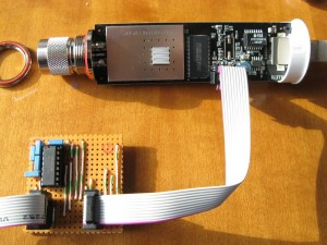 Bullet2 connected to RS232 interface